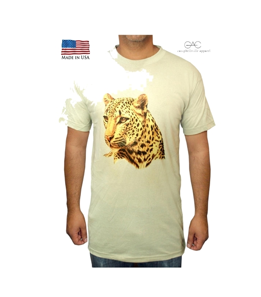 تصویر تی شرت آمریکایی طرح پلنگ