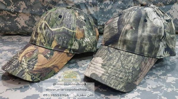 تصویر کلاه نقاب دار استتار شاخ و برگی