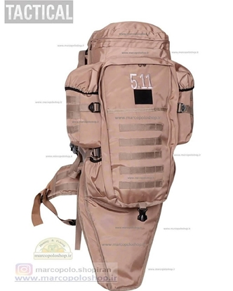 تصویر کوله 40 لیتری تاکتیکال مخصوص حمل اسلحه های